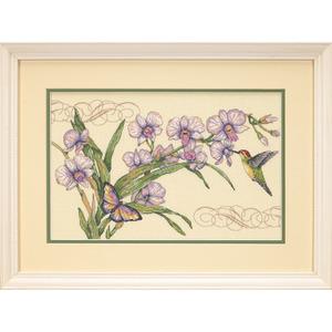 "Набор для вышивания DIMENSIONS ""Орхидеи и колибри"" DMS-35237 (крестик)"