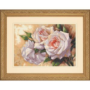 """Набор для вышивания DIMENSIONS """"Белые розы"""" DMS-35247 (крестик)"""