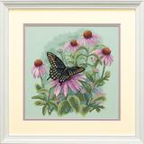 """Набор для вышивания DIMENSIONS """"Бабочка и ромашки"""" DMS-35249 (крестик)"""