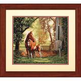 """Набор для вышивания DIMENSIONS  """"Лошадь с жеребенком"""" Dimensions DMS-35260 (крестик)"""