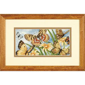 """Набор для вышивания DIMENSIONS """"Виньетка с бабочками"""" DMS-65055 (крестик)"""