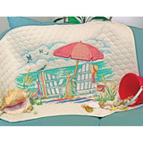 "Набор для вышивания DIMENSIONS ""Одеяльце На пляже"" DMS-70-03242 (печатный крест)"