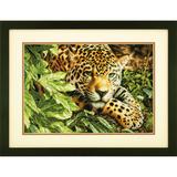 "Набор для вышивания DIMENSIONS ""Леопард на отдыхе"" DMS-70-35300 (крестик)"