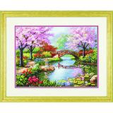 """Набор для вышивания DIMENSIONS """"Японский сад"""" DMS-70-35313 (крест)"""