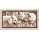 """Набор для вышивания """"Белые волки"""" Чаривна Мить ЧМ.М-126"""