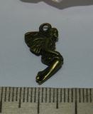 Подвеска металлическая бронзовая Ангел 10х20мм